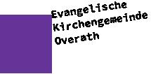 Evangelische Kirchengemeinde Overath