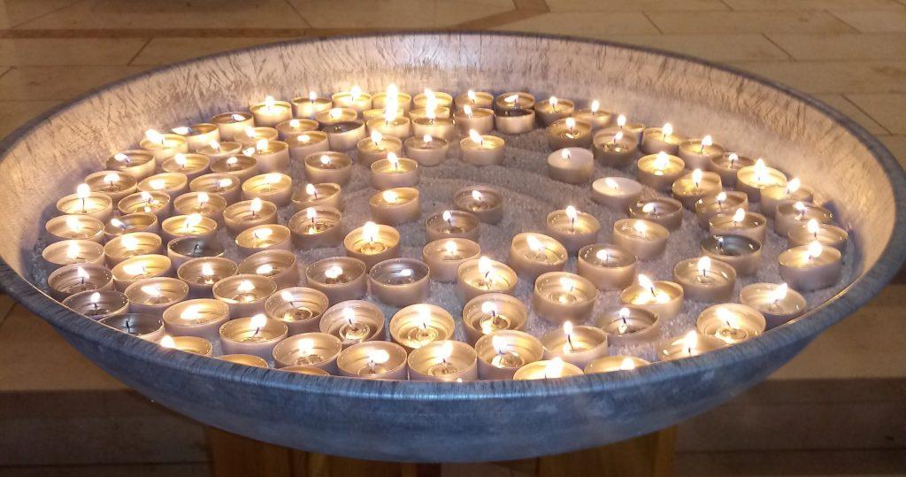 Gedenken an die Opfer der Hochwasserkatastrophe