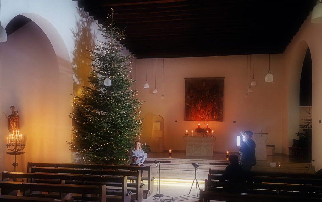 Videogottesdienst an Heiligabend
